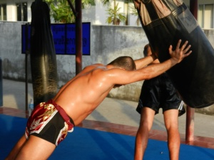Training in Phuke - Tiger Gym